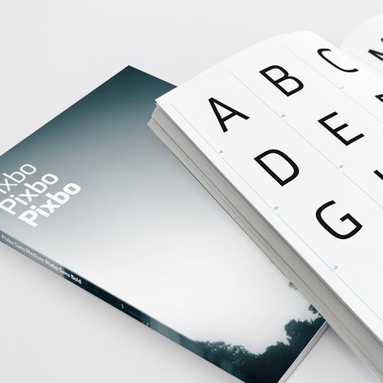 Pixbo 品牌形象字体设计