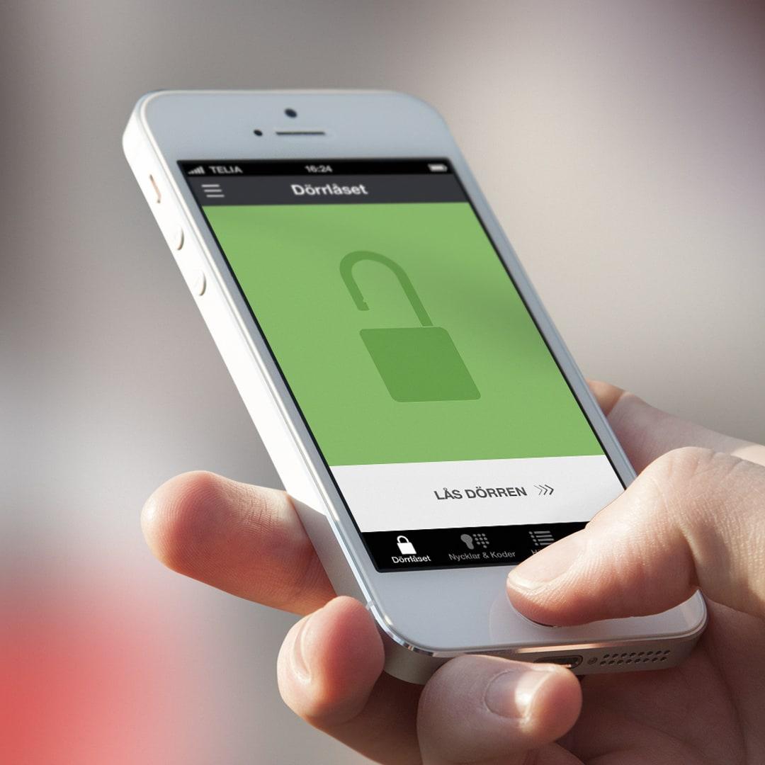 Doorman app智能锁系统